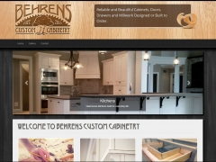 Behrens Custom Cabinetry - Update