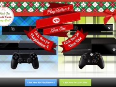 PlayStation 4 vs Xbox One Landing Page